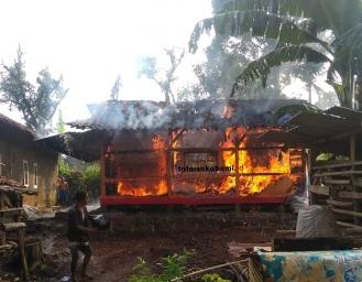Rumah Kakek dan Cucu di Nyalindung Ludes Terbakar