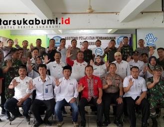 BNNK Sukabumi : 13 Desa se-Kecamatan Cisaat Sukabumi Bebas Narkoba