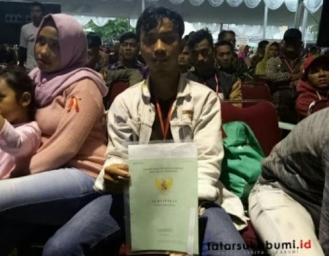 Titik Terang Permasalahan Sertifikat Tanah Program TORA di Warungkiara Sukabumi