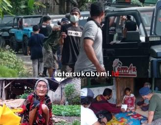 Ngabuburit Komunitas Offroad Pakidulan di Rumah Disabilitas Penghafal Alquran Asal Surade Sukabumi