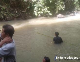 Bocah 12 Tahun Tenggelam di Curug Ngebul Cikakak Sukabumi