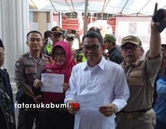 Wakil Bupati Sukabumi Pilih Kepala Desa Cibatu