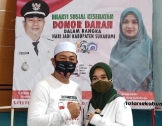 Donor Darah Desa Sukakersa Peringati 150 Tahun Kabupaten Sukabumi