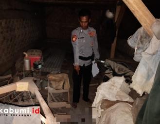 Anak Siksa Ayah Hingga Tewas di Sukabumi, Barang Bukti Roda Traktor Berdarah