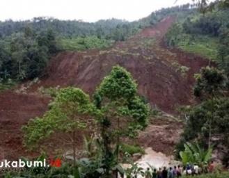 Cisolok Sukabumi Kembali Diterjang Longsor 3 Hektare Lahan Tertimbun