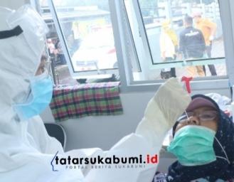 Jajaran BNNK Sukabumi Jalani Swab PCR dan Pengetatan Protokol Kesehatan