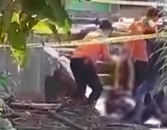 Jenazah Driver Ojol Ditemukan di Saluran Air Sukaraja Sukabumi