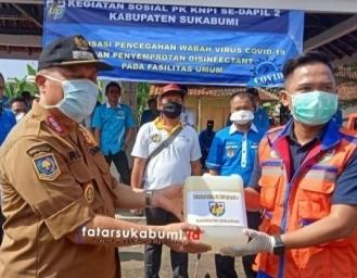 Seluruh Elemen KNPI Kabupaten Sukabumi Diminta Siaga Hadapi Pandemi Covid-19