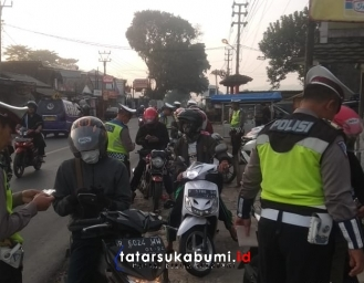 Decade of Action Polres Sukabumi Tindak Pelanggar Lalulintas