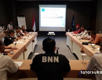 BNNK Sukabumi Evaluasi Program IBM Pasca Rehabilitasi
