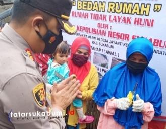 Program Bedah Rumah Polres Sukabumi dan PT Indonesia Power PLTU Jabar