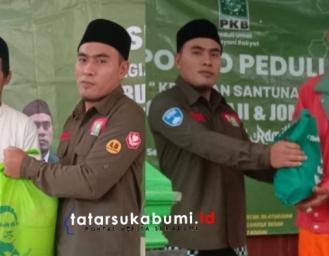 PKB Bagi 1000 Paket Sembako untuk 9 Kecamatan Dapil V Sukabumi