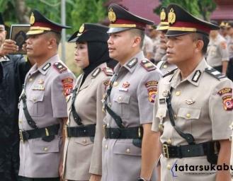 Inilah Nama Pejabat Utama dan Kapolsek Baru di Lingkup Polres Sukabumi