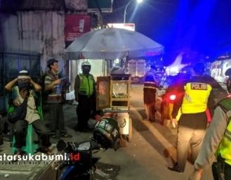 Operasi KKYD Polsek Cibadak Jelang Pemberlakuan PSBB di Sukabumi