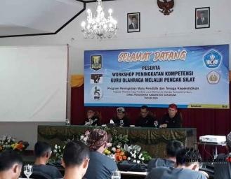 Pencak Silat Masuk Kurikulum Olahraga dan ekstrakurikuler Sekolah Dasar dan Menengah Sukabumi