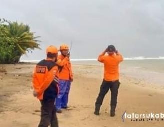 Operasi SAR Pencarian Korban Tenggelam di Pantai Cijalil Minajaya