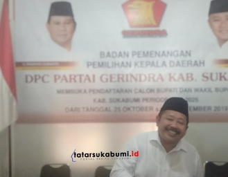 Sofyan Effendy Jadi Bupati Sukabumi Sodorkan 4 Misi Untuk Masyarakat Sukabumi