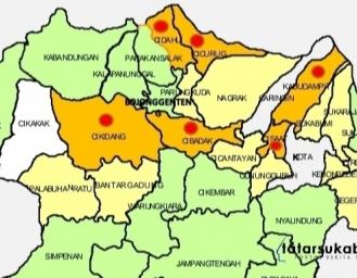 Sebaran Kasus PDP di 19 Kecamatan Kabupaten Sukabumi