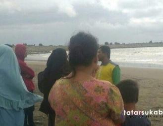 4 Wisatawan Terseret Ombak di Palabuhanratu Tim SAR Lakukan Pencarian Korban