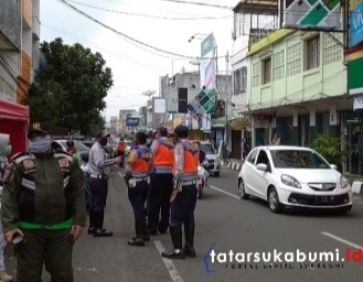 Mulai 1 Mei Wajib Pakai Masker Masuk Kota Sukabumi, Ini Sanksi Bagi Pelanggar