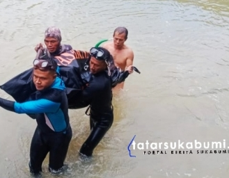 SAR Temukan Jenazah Korban Tenggelam Asal Warudoyong Sukabumi di Leuwi Kenit