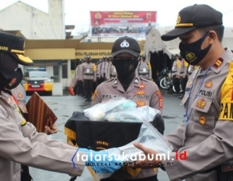 Polres Sukabumi Kota Turunkan 576 Personel Pengamanan Pilkada Sukabumi 2020