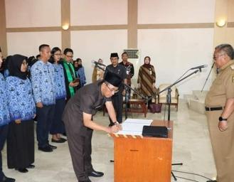268 PNS Kabupaten Sukabumi Disumpah Bupati