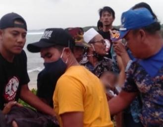 Kecelakaan Laut di Perairan Ujunggenteng Sukabumi Korban Meninggal Dunia