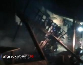Niat Bikin Gorengan Untuk Buka Puasa, Warung di Cihaur Sukabumi Ludes Terbakar