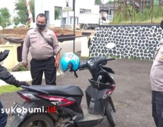Razia Knalpot Racing di Wilayah Hukum Polres Sukabumi Kota