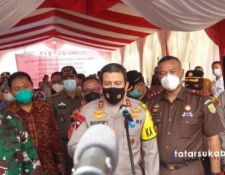 Pangdam III Siliwangi dan Kapolda Jabar Tinjau Kesiapan Pilkada Sukabumi
