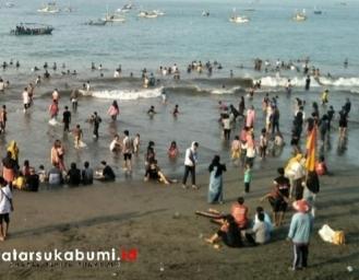 Kendala Pencarian Korban Tenggelam di Palabuhanratu Sukabumi