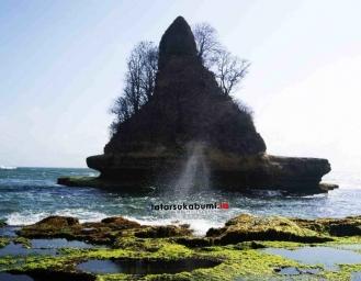 Keindahan dan Keunikan Karang Gantung Goa Walet Ujung Genteng Sukabumi