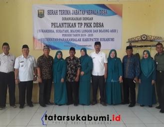 Sertijab 4 Kepala Desa Parakansalak Sukabumi