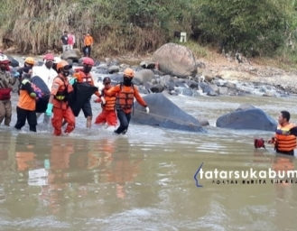 Breaking News! Temu Jenazah Bocah Laki-laki di Sungai Cicatih Cironggeng Sukabumi
