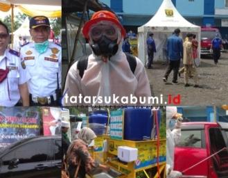 Situasi Terkini Sterilisasi Perbatasan Sukabumi Cianjur, 1 Pendatang Kedapatan Suhu Tubuh Diatas 38 Derajat