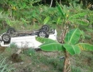 Avanza Terjun Bebas Masuk Jurang Kedalaman 15 Meter di Sukabumi
