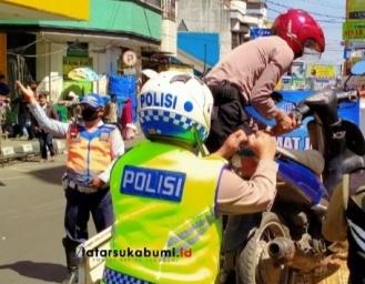 Berani Lawan Arus Siap-siap Kena Tilang Operasi Patuh Lodaya Polres Sukabumi Kota