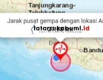 Pusat Gempa Sukabumi Getaran Terasa Hingga Bogor dan Bandung