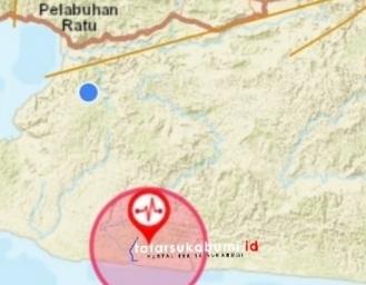 Gempa Terkini Sukabumi Hari ke 7 Ramadhan 1441 H