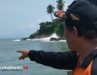 Berenang Jam 3 Pagi 2 Warga Bogor Tenggelam di Palabuhanratu
