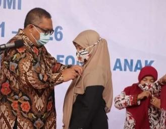 Yani Jatnika Marwan Kembali Jabat Ketua P2TP2A dan LKKS Kabupaten Sukabumi 2021-2026