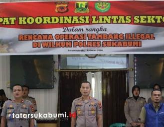 Polres Sukabumi Akan Tindak dan Tertibkan Tambang Ilegal di Sukabumi