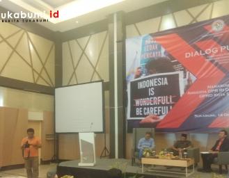 Dialog Bersama Anggota DPR, Aliansi BEM Sukabumi Belum Puas